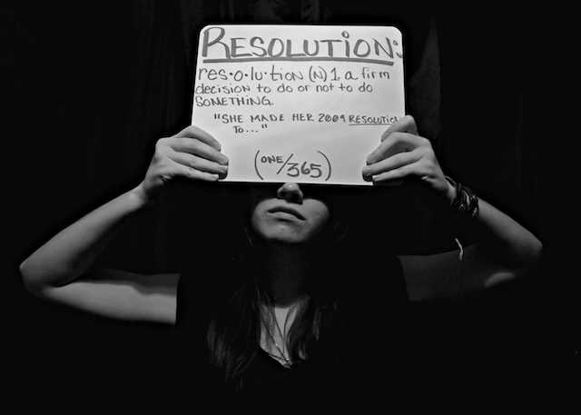 Resolution (One/3six5) by Bekah