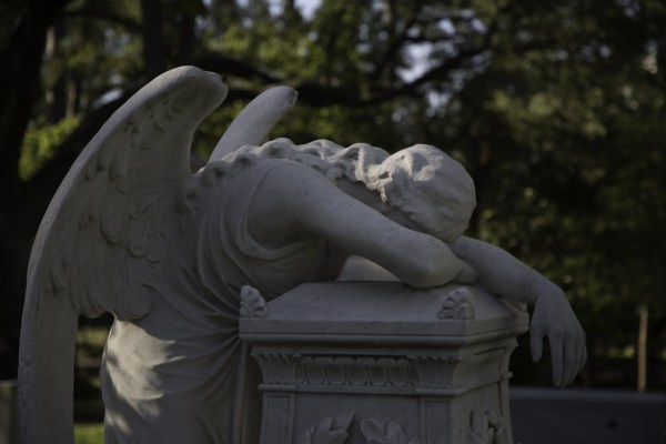 Angel of Grief by Michael Schaffner