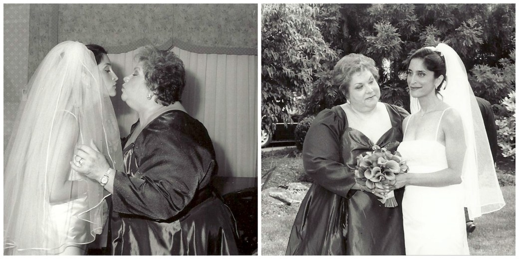 Me and Mom, Before My Wedding