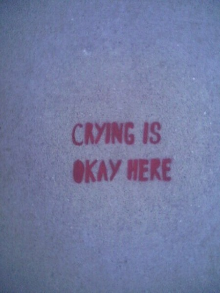 Crying is Okay Here by Mike Kuniavsky