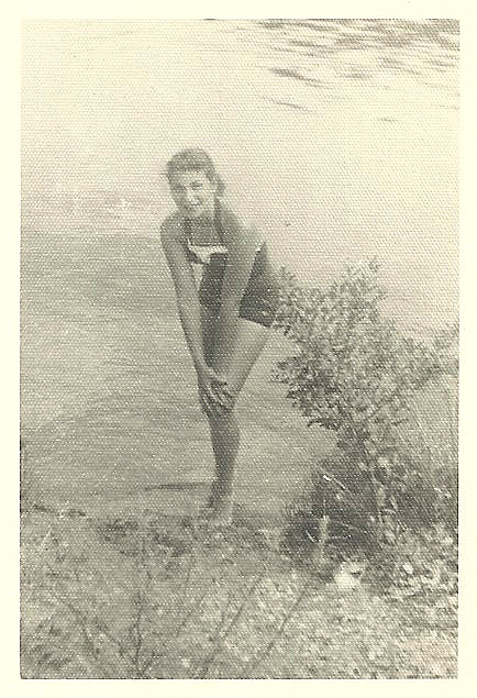 Teenage Mom at Erskine Lake