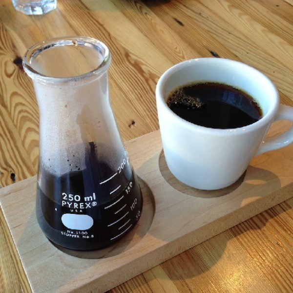 Beakers are Handy for Coffee Brewing