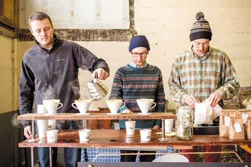Pour Over Coffee Bar