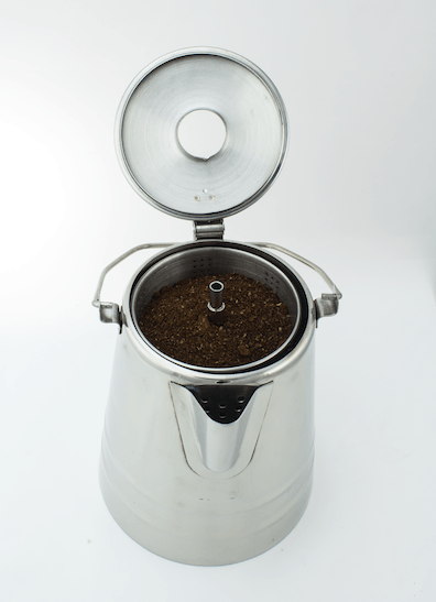 Coletti Butte Camping Percolator Top View