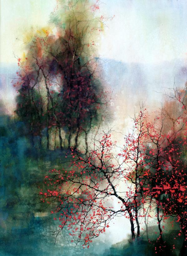 Z. L. Feng Paintings