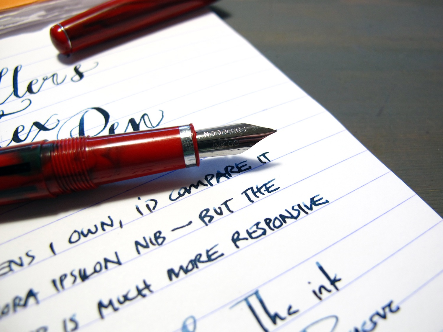 fountain pen the orchard
