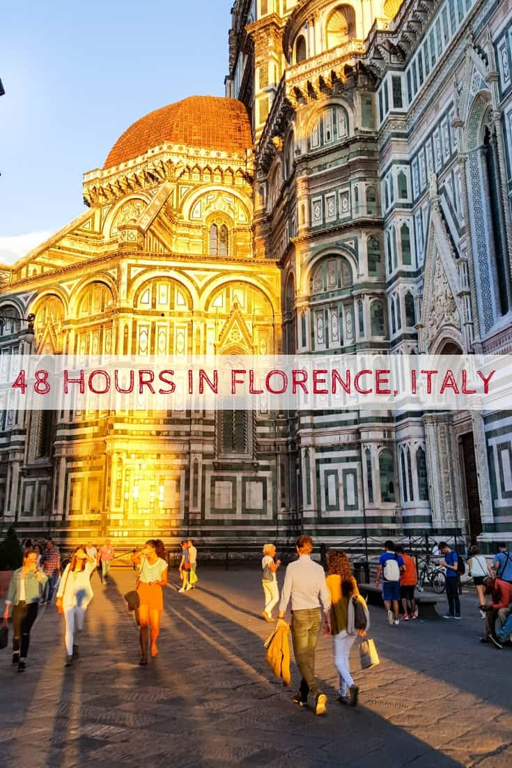 48 Hours in Florence, Italy | Where to eat, drink and stay for a short trip to Florence, Italy! Ultimate Florence Travel Guide! #Florence #tuscany #Italy #travel #italian #Firenze #bistecca #toscana #Italia