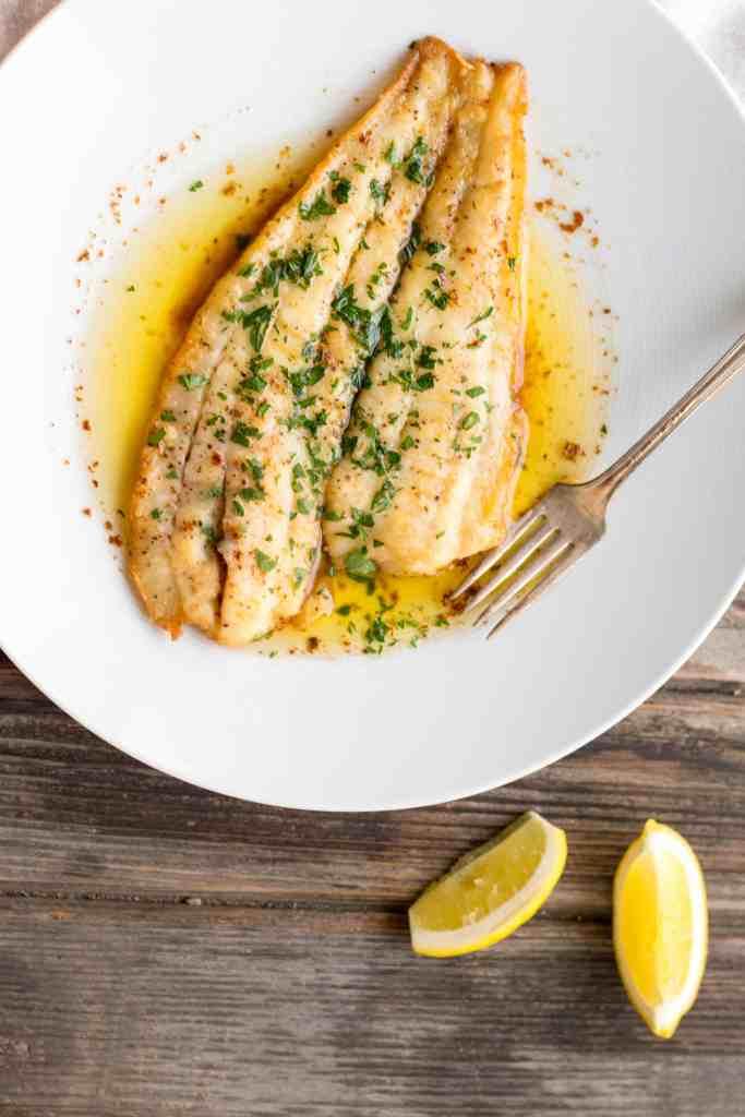 Flounder Meunière