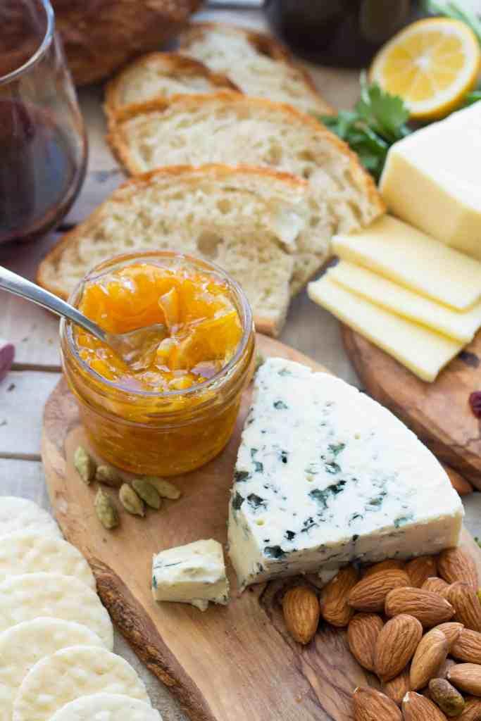 How to Create an Epic Cheese Board + Meyer Lemon Marmalade