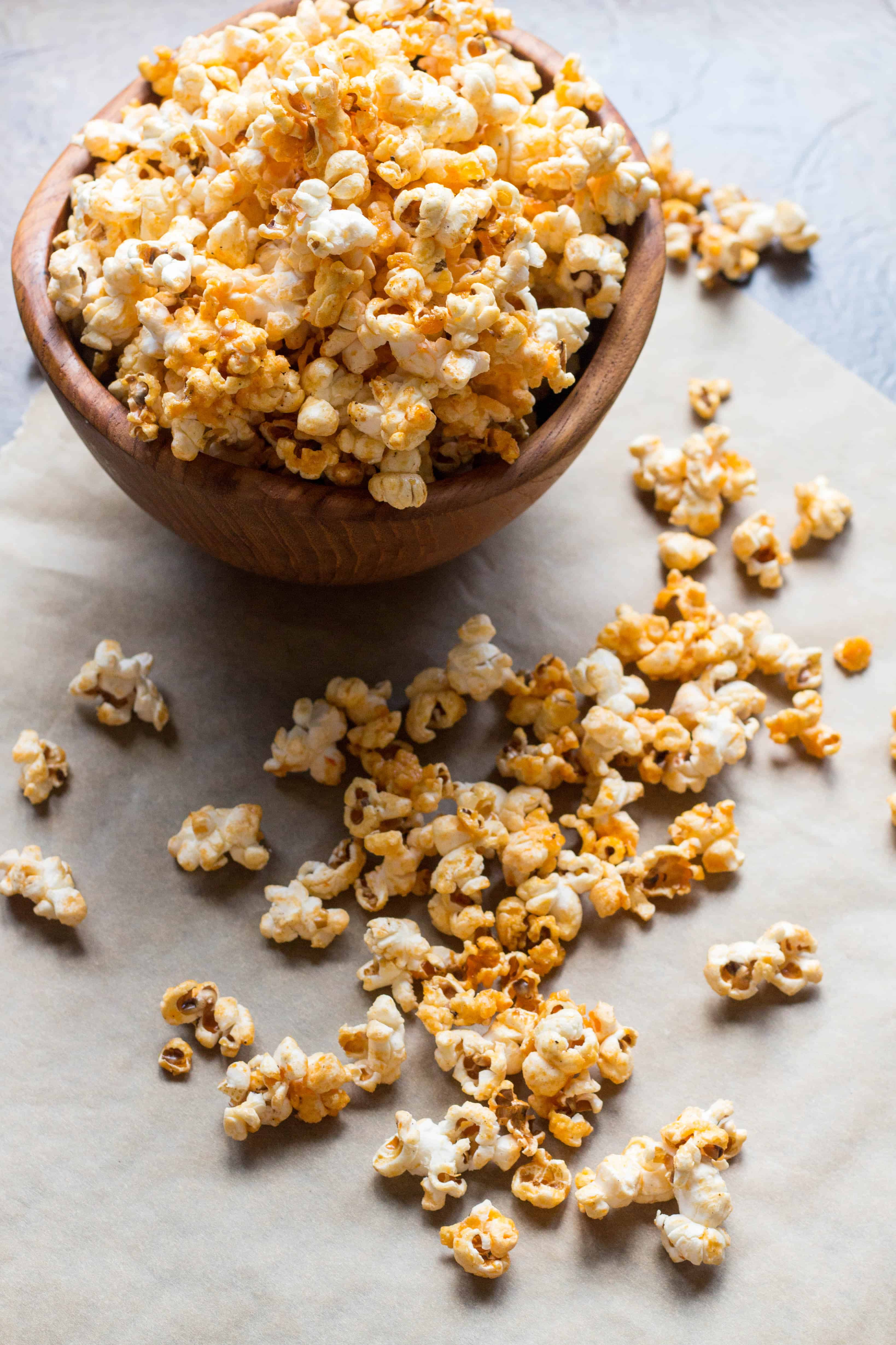 Buttery Buffalo Popcorn (Video!)