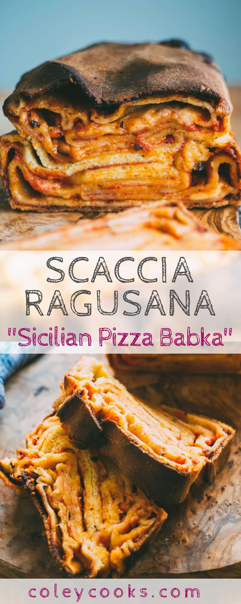 """SCACCIA RAGUSANA: Sicilian """"Pizza Babka"""" 