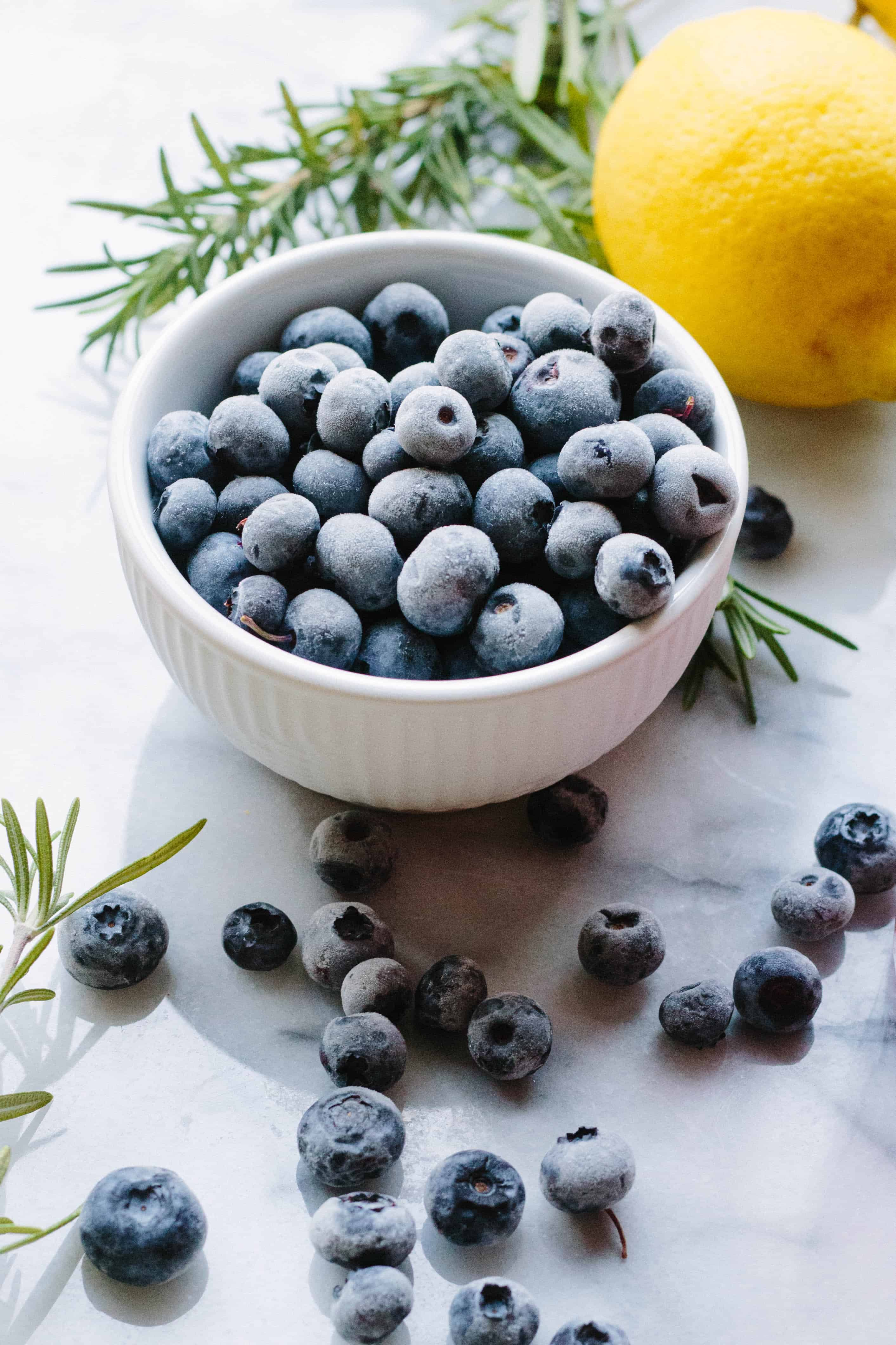 Rosemary Blueberry Vodka Spritzers | Coley Cooks