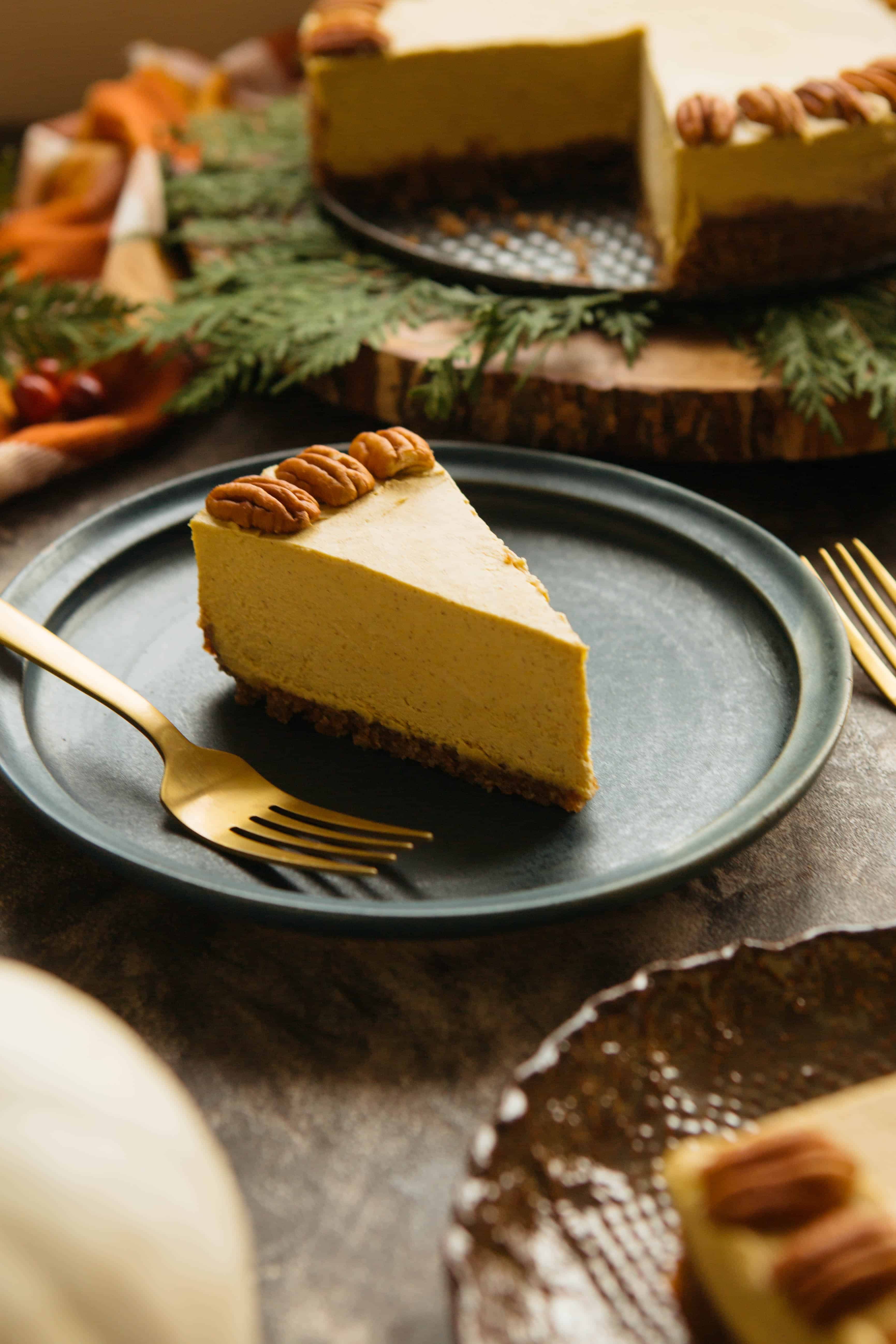 Raw Vegan Pumpkin Cheesecake Coley Cooks