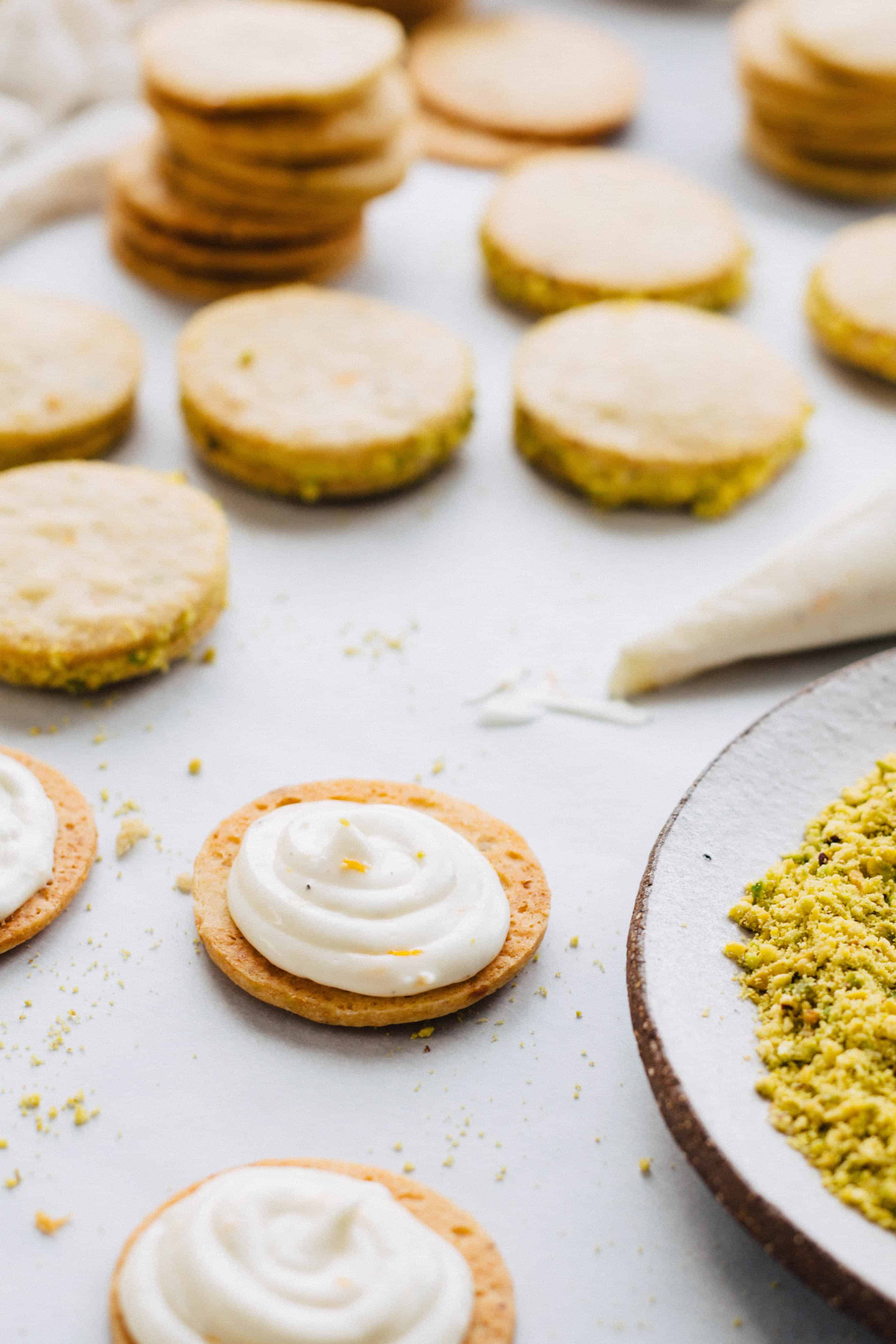 Meyer Lemon + Pistachio Sandwich Cookies | Coley Cooks...