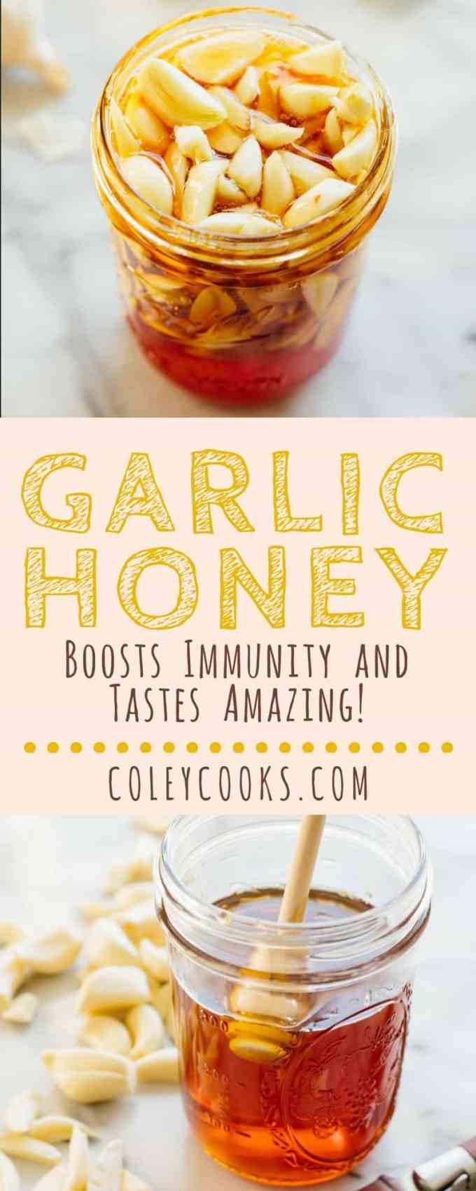 GARLIC HONEY | ColeyCooks.com