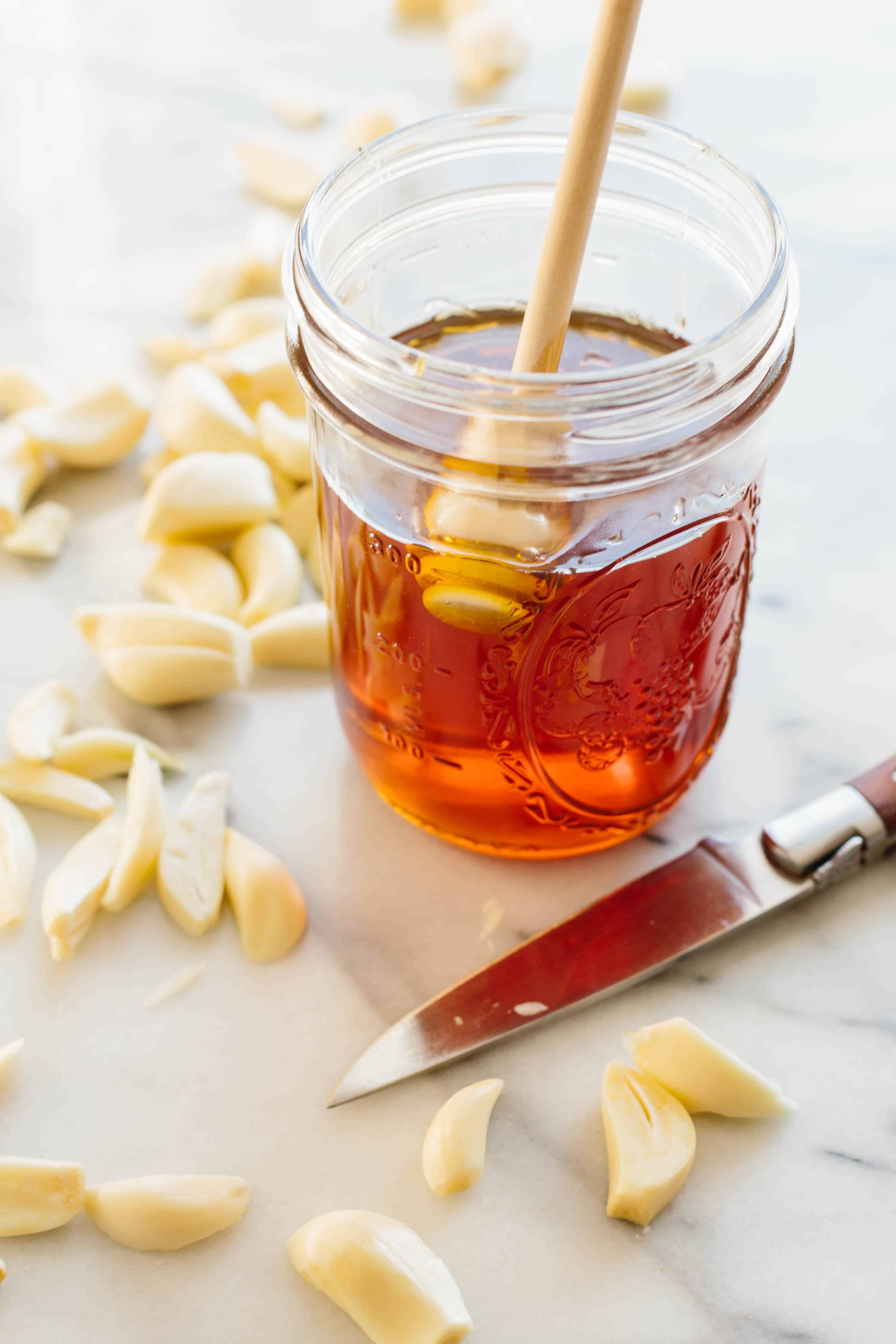 GARLIC HONEY | ColeyCooks.com