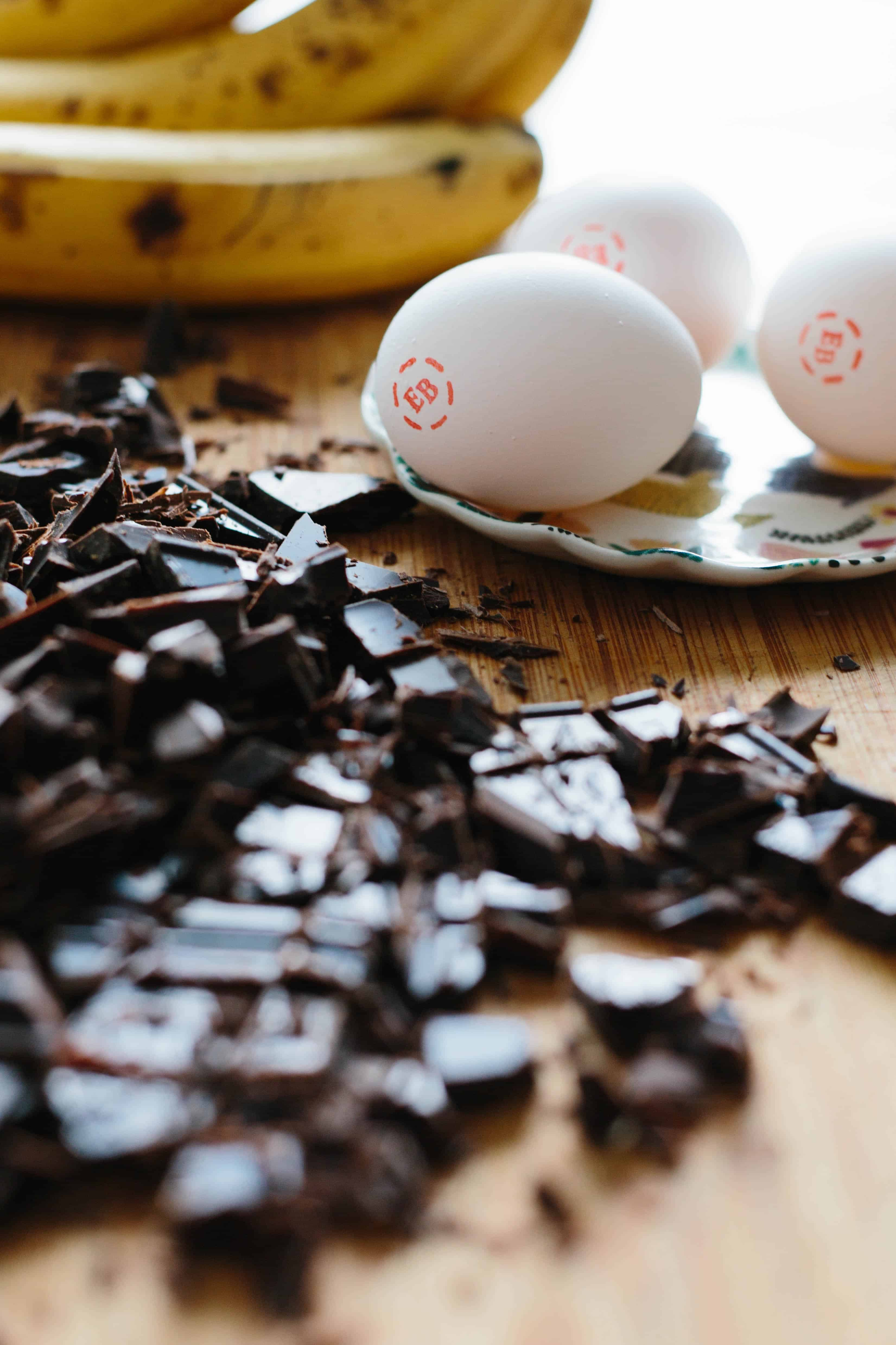 DOUBLE CHOCOLATE PALEO BANANA BREAD   Dairy, Grain, + Refined Sugar Free, but it tastes like chocolate cake!   ColeyCooks.com