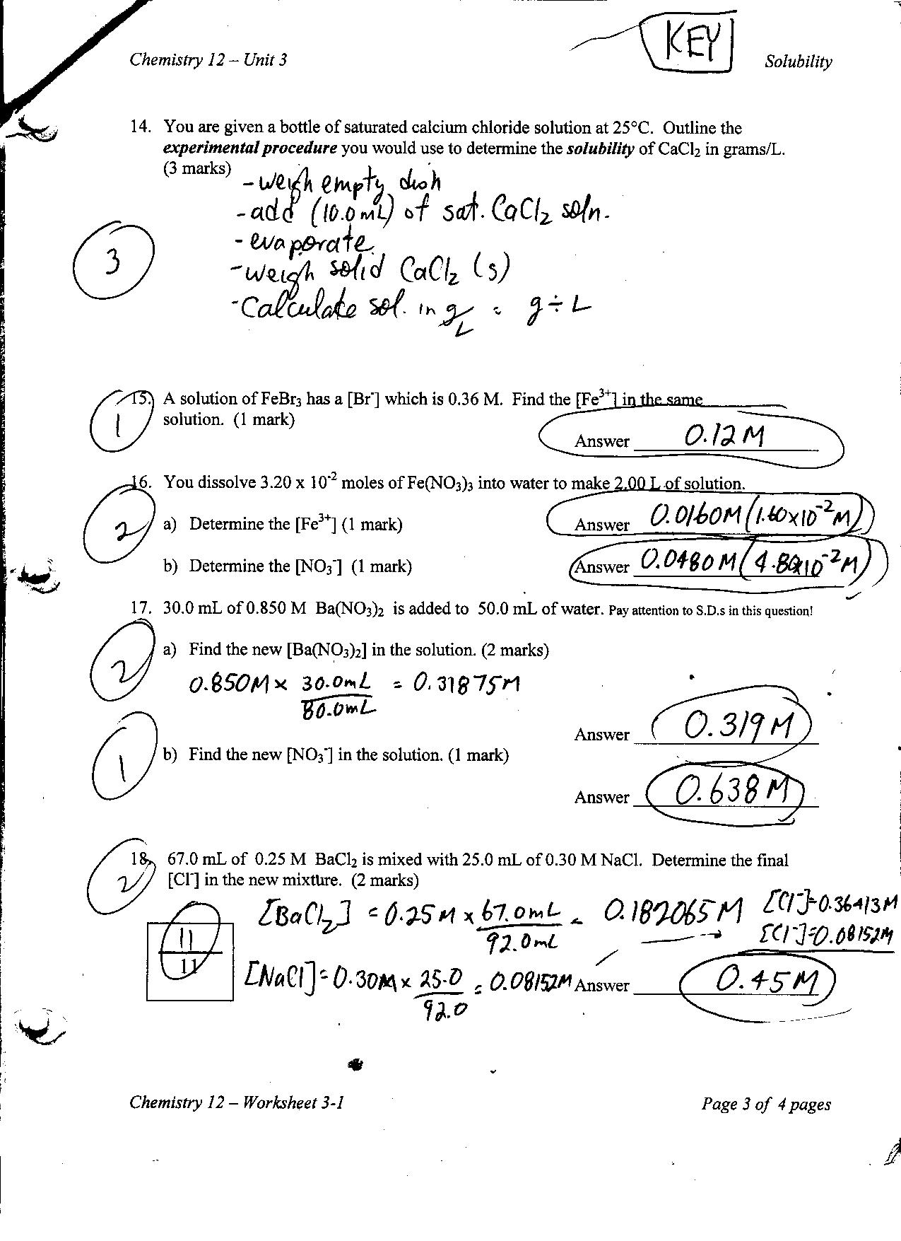 Physics Unit V Worksheet 2