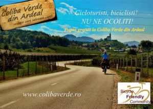 Popas gratuit pentru cicloturiști @ Coliba Verde