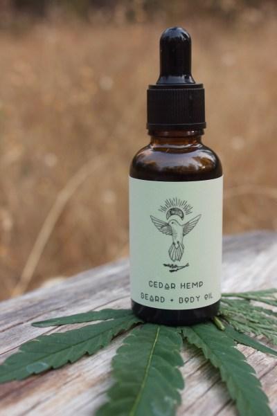Hemp Cedar Body Oil