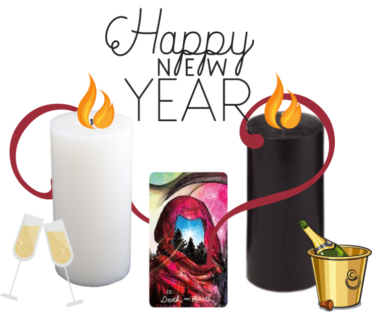 A New Year's Eve Rebirth Spell with The Death/Rebirth Major Arcana Card