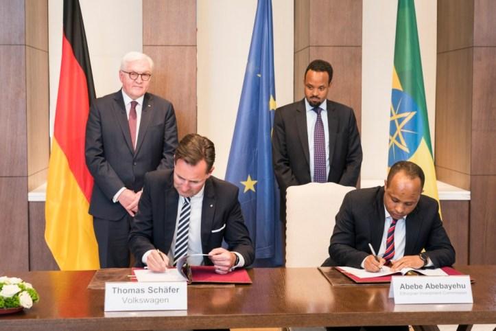 volkswagen signs memorandum of understanding with the ethiopian government to develop automotive industry_01