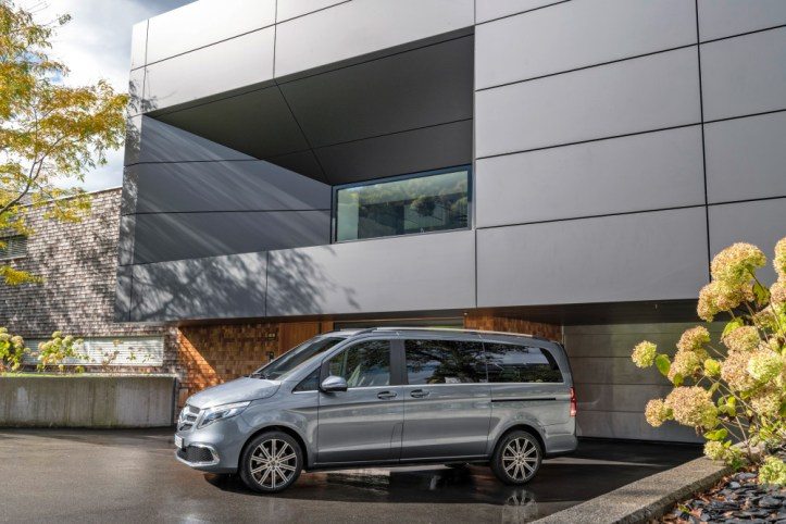 Die neue Mercedes-Benz V-Klasse  The new Mercedes-Benz V-Class