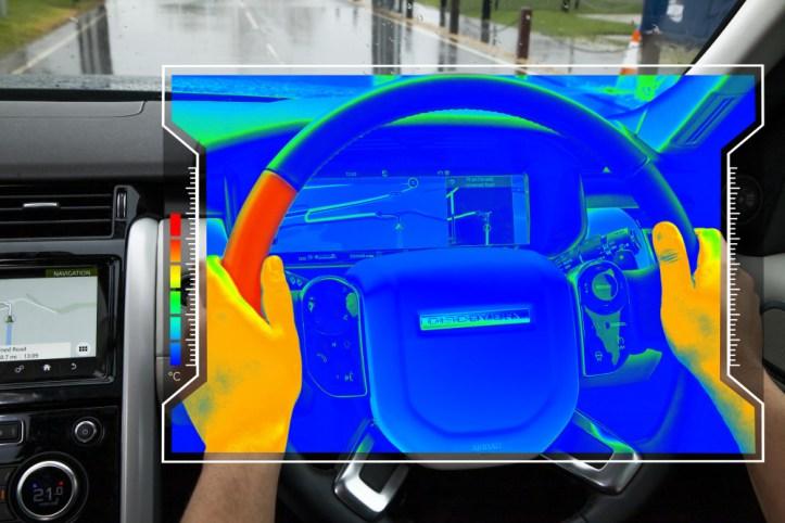 Land Rover sensory steering