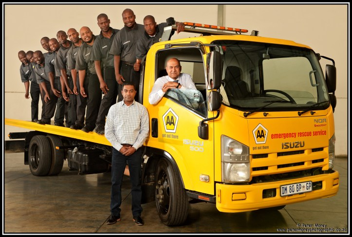 AA Truck hand over 2019