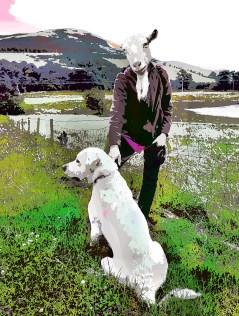 The dog handler