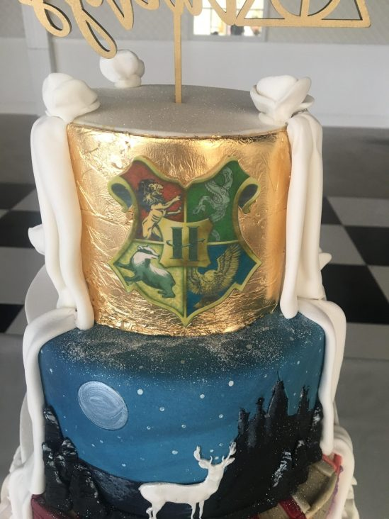 Harry Potter Wedding Cake