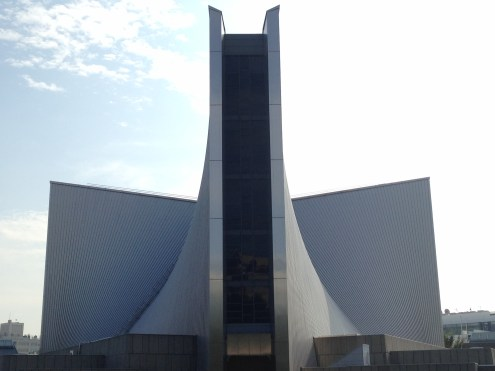 Kenzo Tange's St Mary's cathedral