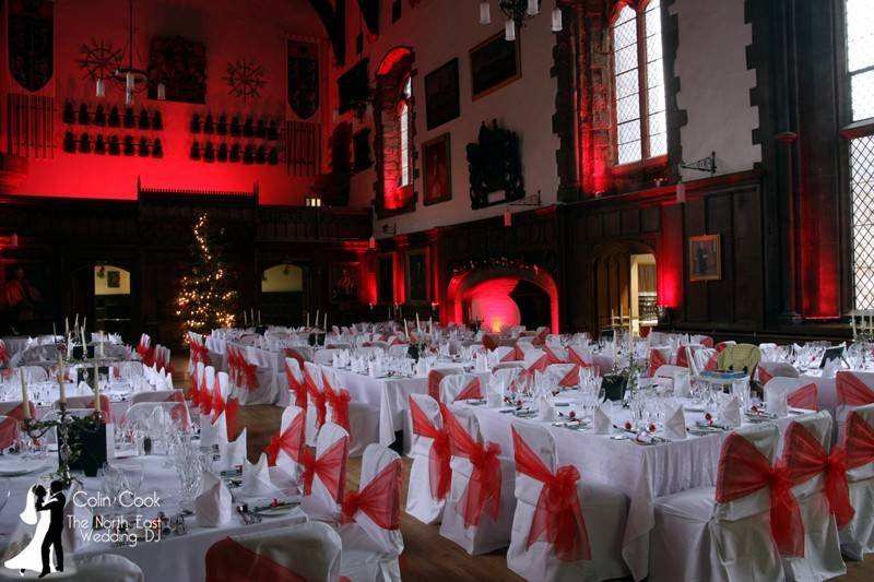 Durham-Castle-Wedding-Lighting-2
