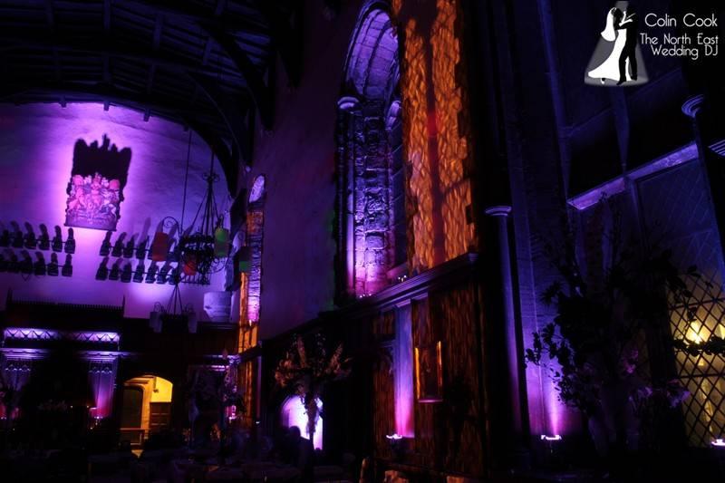 Durham-Castle-Wedding-Lighting-5