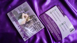 Colin Cook Wedding Entertainment Brochure
