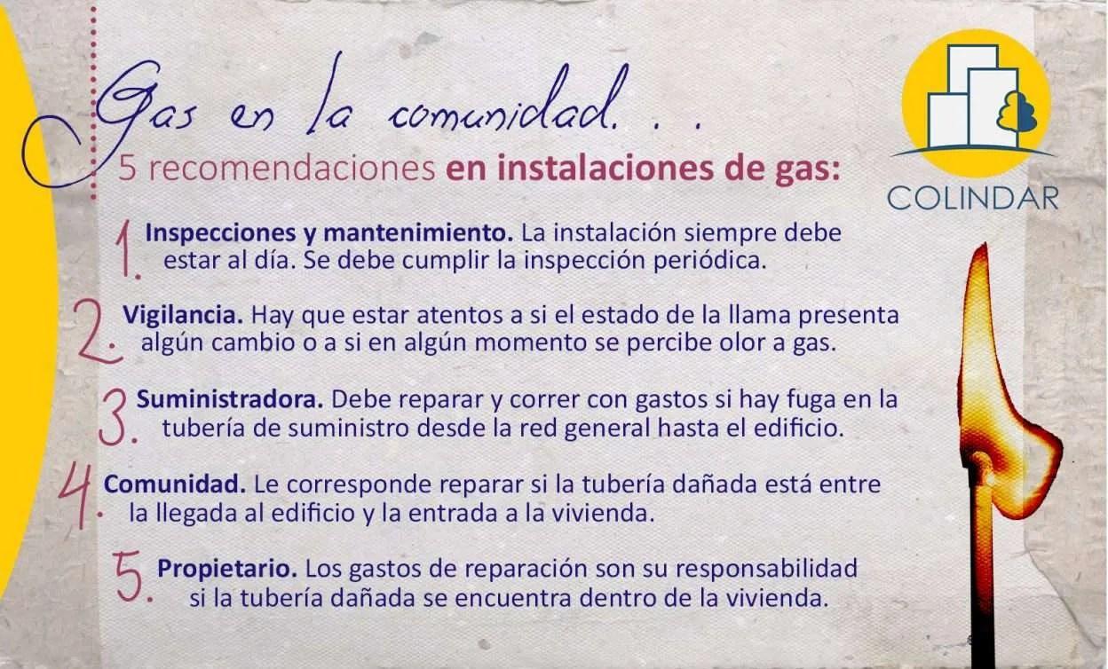 Gas en comunidades