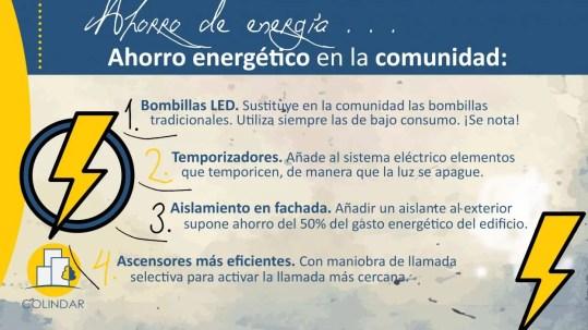 Ahorro Energía comunidad de propietarios