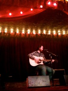 Singing solo @ Jalopy Theater, 2010