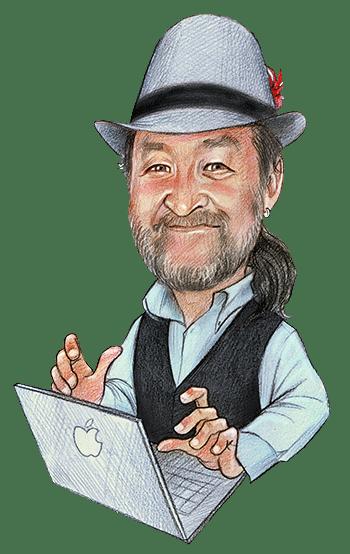Colin Dunbar Caricature