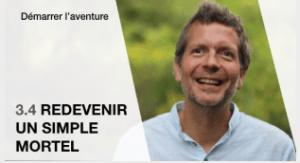 Frederic Laloux vidéo Redevenir un simple mortel
