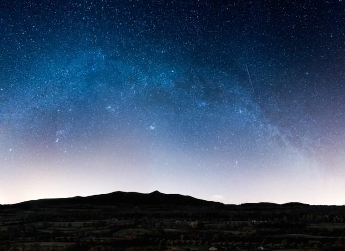 Milky Way over Coolmore Stud