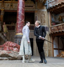 THE TEMPEST By William Shakespeare at The Globe Theatre, London, Great Britain press photocall 26th April 2013 Directed by Jeremy Herrin Designed by Max Jones Music by Stephen Warbeck Joshua James Ferdinand Colin Morgan Ariel Photograph by Elliott Franks contact: Tel: 07802 537 220 email: elliott@elliottfranks.com www.elliottfranks.com Agency space rates apply editorial use only