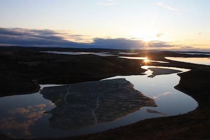 The vast tundra