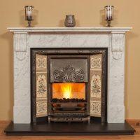 Large Corbel Fireplace Surround  Colin Parker Masonry