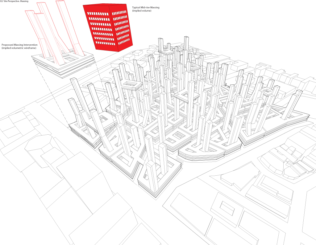 Wireframe City : Colin Prothero