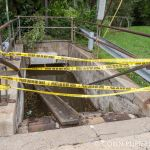 Flooded underpasses can breed mosquitoes