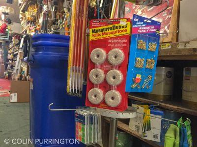 MosquitoDunks at hardware store
