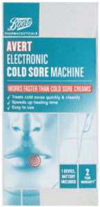 Boots Pharmaceuticals Avert Electronic Cold Sore Machine