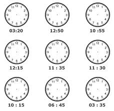 Children's Misconceptions of Telling Time