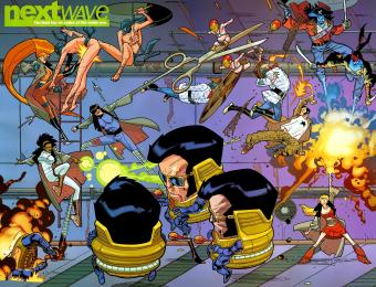 Knight's Past: NEXTWAVE, Agents of H.A.T.E